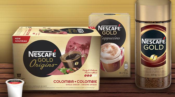 Échantillons gratuit Nescafe Gold